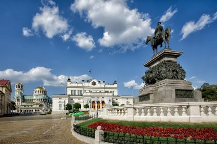 Alexander II monument, Bulgarian parliament and Cathedral Alexander Nevsky
